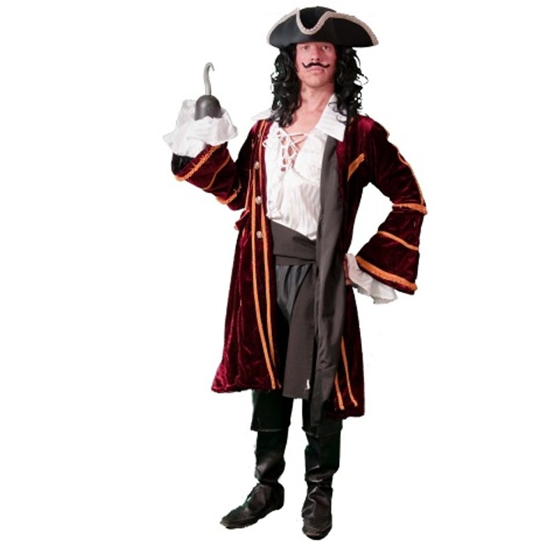 Captain Hook Masquerade Costume Hire