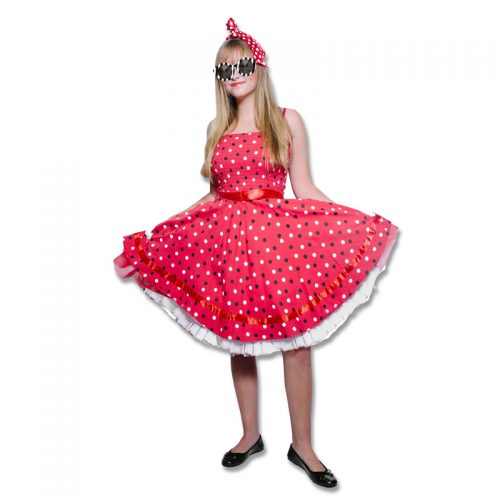 Rock 'n Roll Dress Masquerade Costume Hire