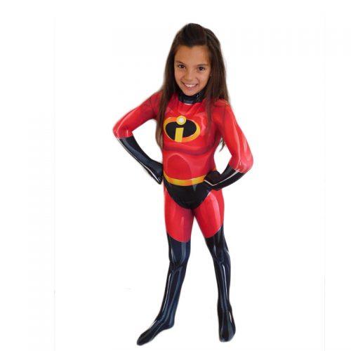 Kids Mrs Incredible Masquerade Costume Hire I