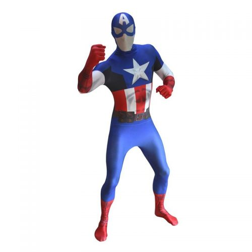 Captain America Masquerade Costume Hire
