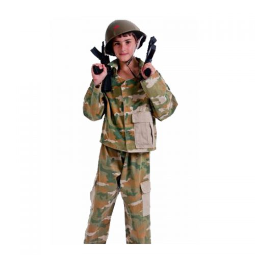 Kids Army Outfit Masquerade Costume Hire