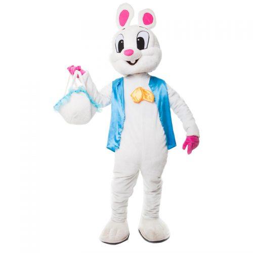 Easter Bunny Mascot Masquerade Costume Hire