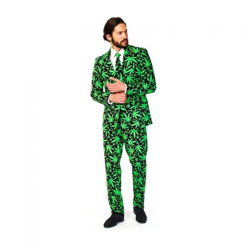 Cannabis Suit Masquerade Costume Hire