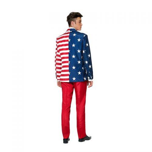 Mr. USA Suit Masquerade Costume Hire