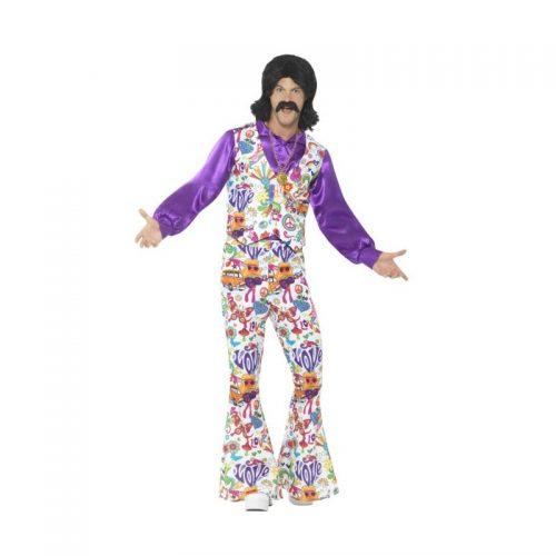Flower Power Era Hippie Masquerade Costume Hire