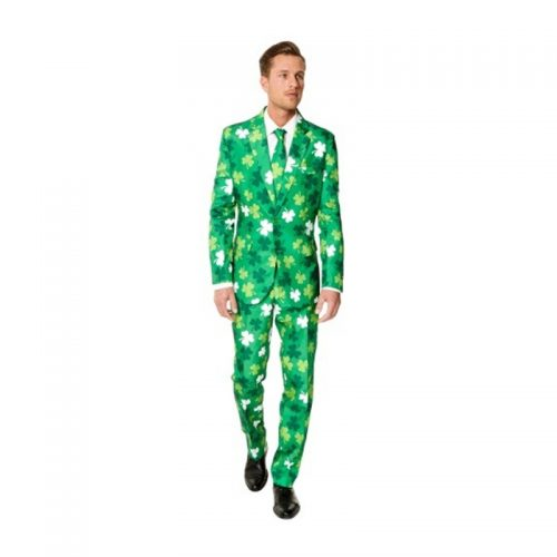 Three Leaf Clover Suit Masquerade Costume Hire
