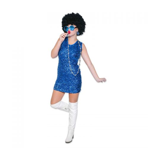 Sizzling 70's Disco Dress Masquerade Costume Hire