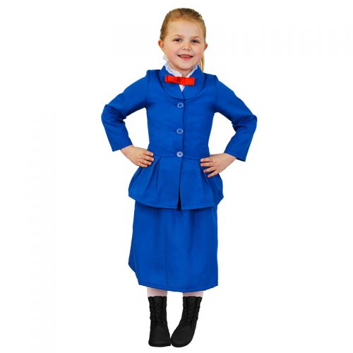 Kids Mary Poppins Outfit Masquerade Costume Hire