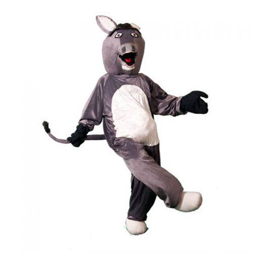 Donkey Mascot Masquerade Costume Hire
