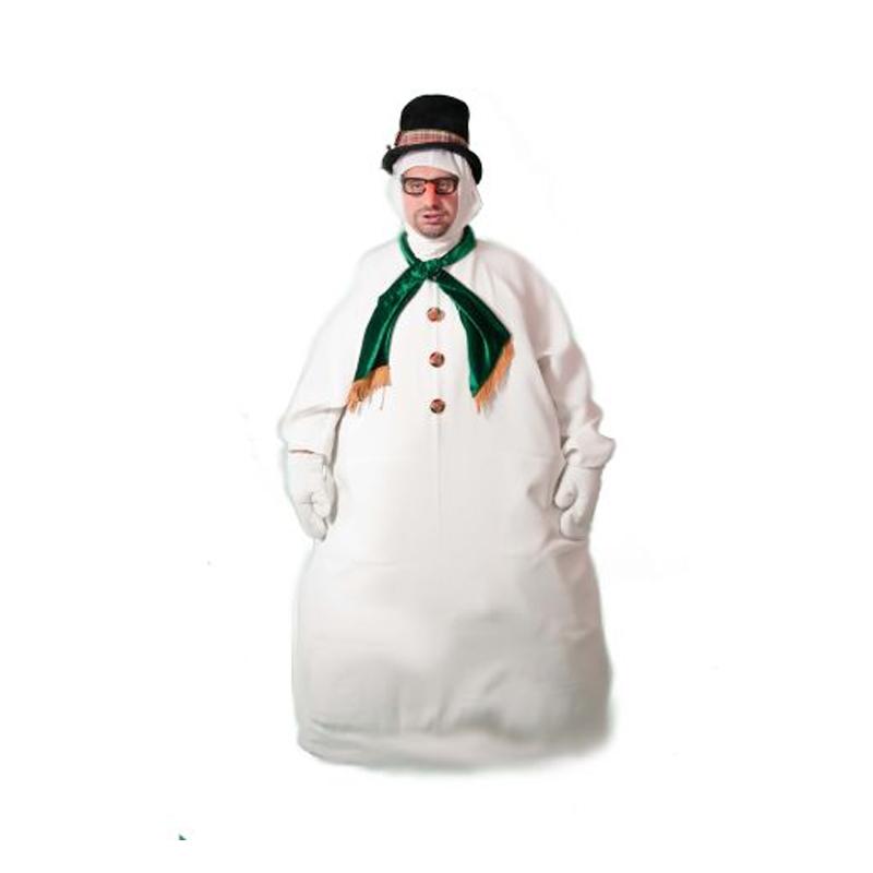 Snowman Masquerade Costume Hire