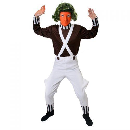 Ompa Lompa Masquerade Costume Hire