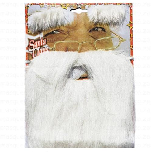 Santa Clause Fake Beard Set
