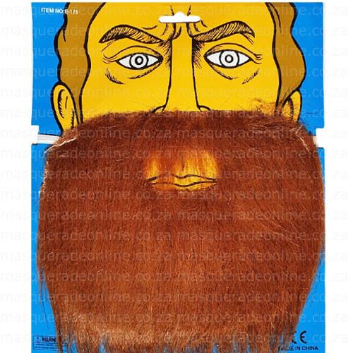 Fake Ginger Beard