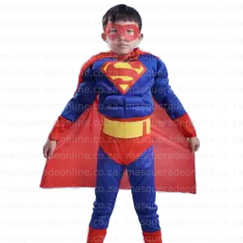 Super Boy Muscle Costume Masquerade Costume Hire