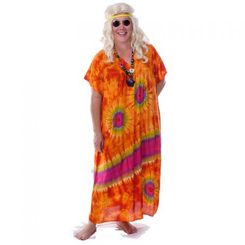 Hippie Tie Dye Kafton Masquerade Costume Hire