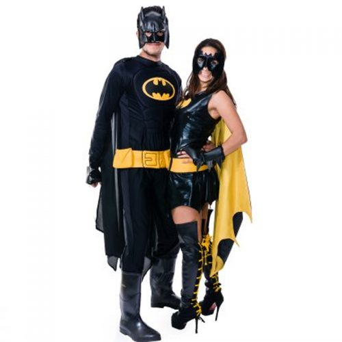 Super Hero Couple Masquerade Costume Hire