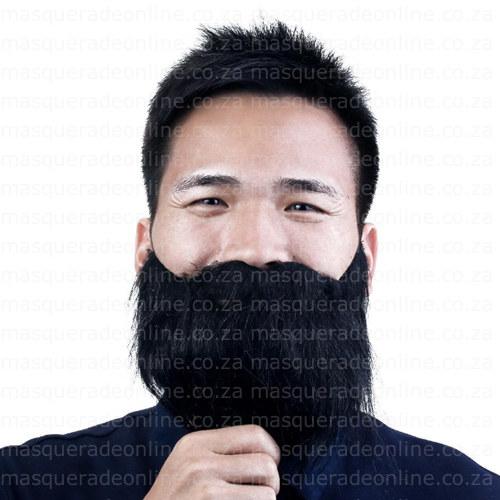 Black Fake Beard