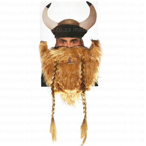 Masquerade Viking Beard