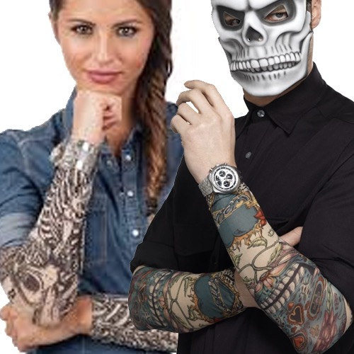 Tattoos Stick-ons & Sleeves