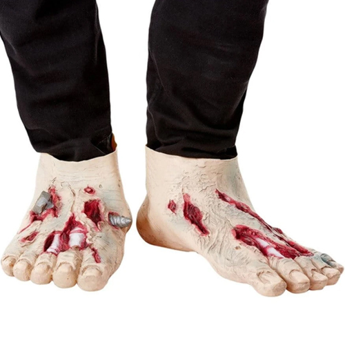latex zombie feet