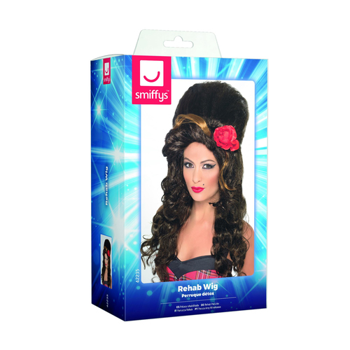 Amy Whinehouse Wig