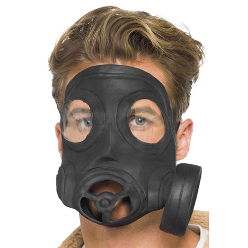 Steam Punk Latex Gas Mask