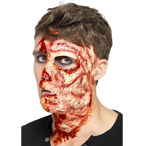 Halloween scar make up