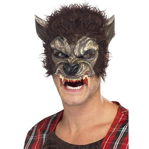 Werewolf Fur Mask Masquerade Costume hire