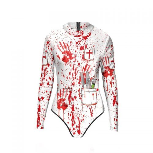 Bloody Nurse Bodysuit