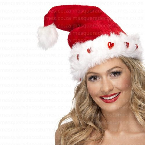 Light of Santa hat