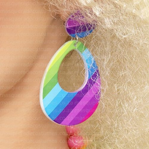80's Earrings Masquerade Costume Hire
