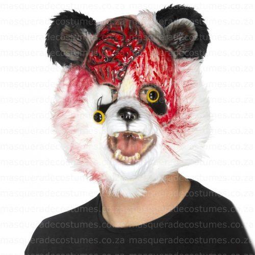 Scary Zombie Panda Mask