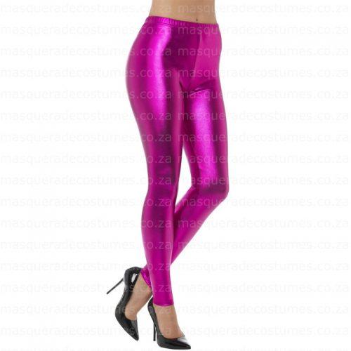 Masquerade Metallic Pink Tights