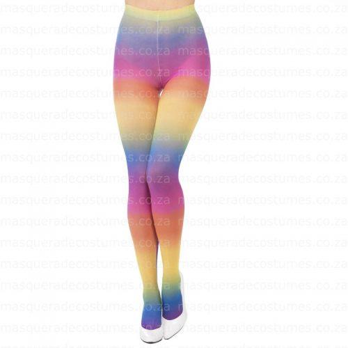 Masquerade Rainbow Tights