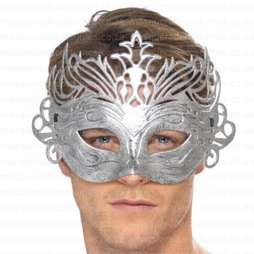 Masquerade Silver Venetian Mask