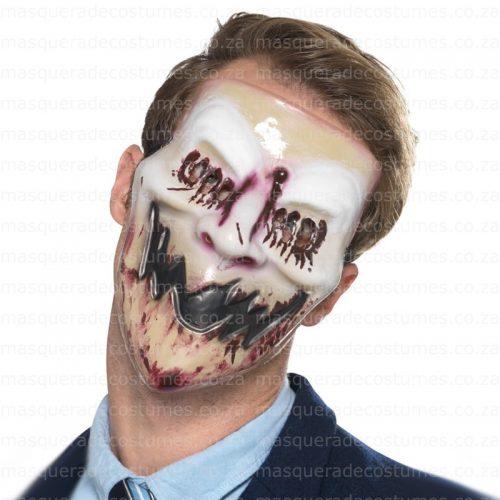 Masquerade Blood Smile Mask