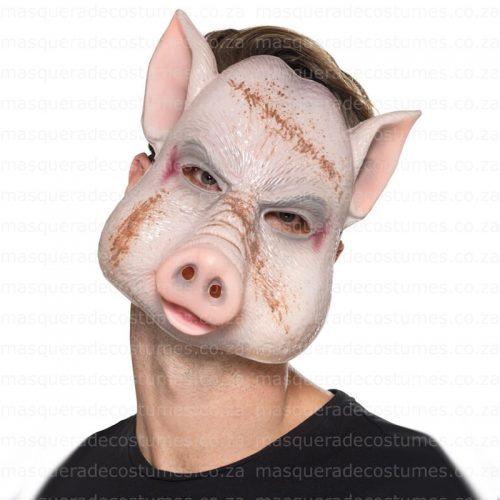 Masquerade Scary Pig Mask
