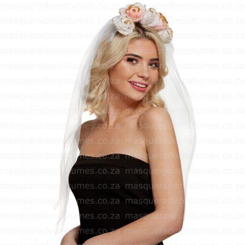 Masquerade Bridal Headpiece