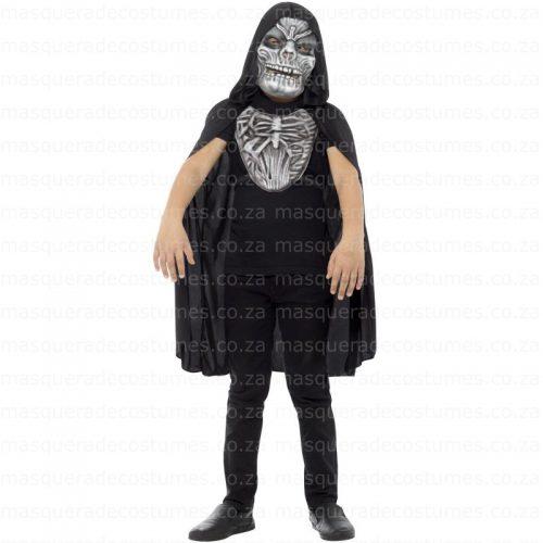Masquerade Grim Reaper Kid's Costume