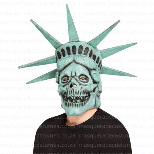 Liberty Skull Latex Mask