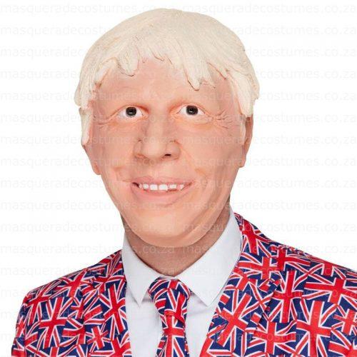 Borris Johnson Latex Mask