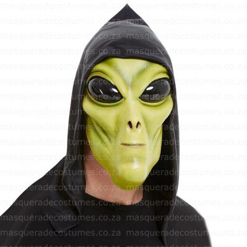 Masquerade Alien Latex Mask