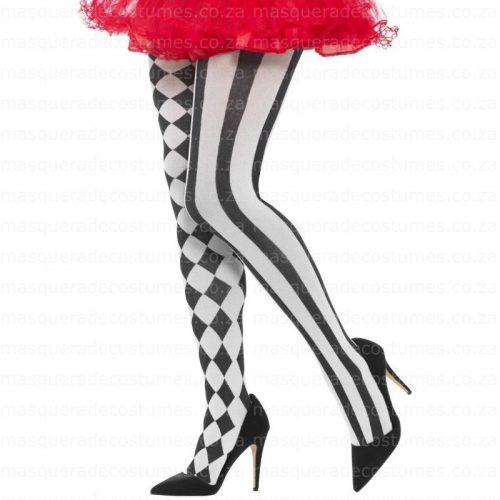 Harlequin Harlequin Tights Black and White