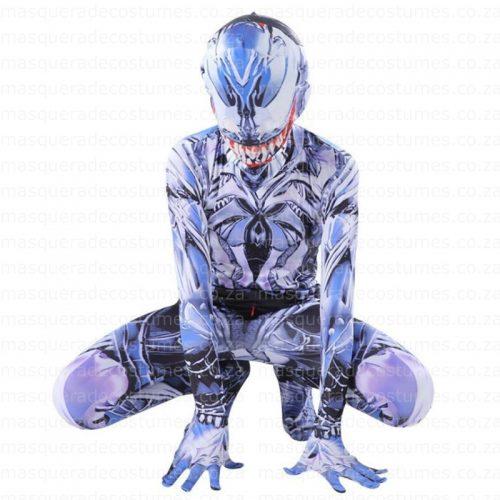 kid's Venom Inspired Spandex Costume
