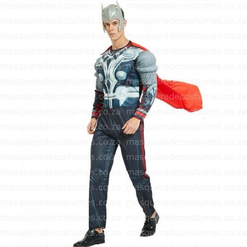 Adult's Padded Thor Costume a