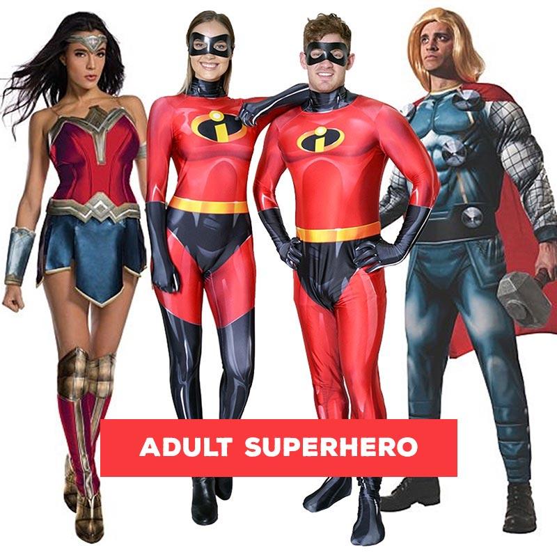 Buy Adult Superhero Costumes Online