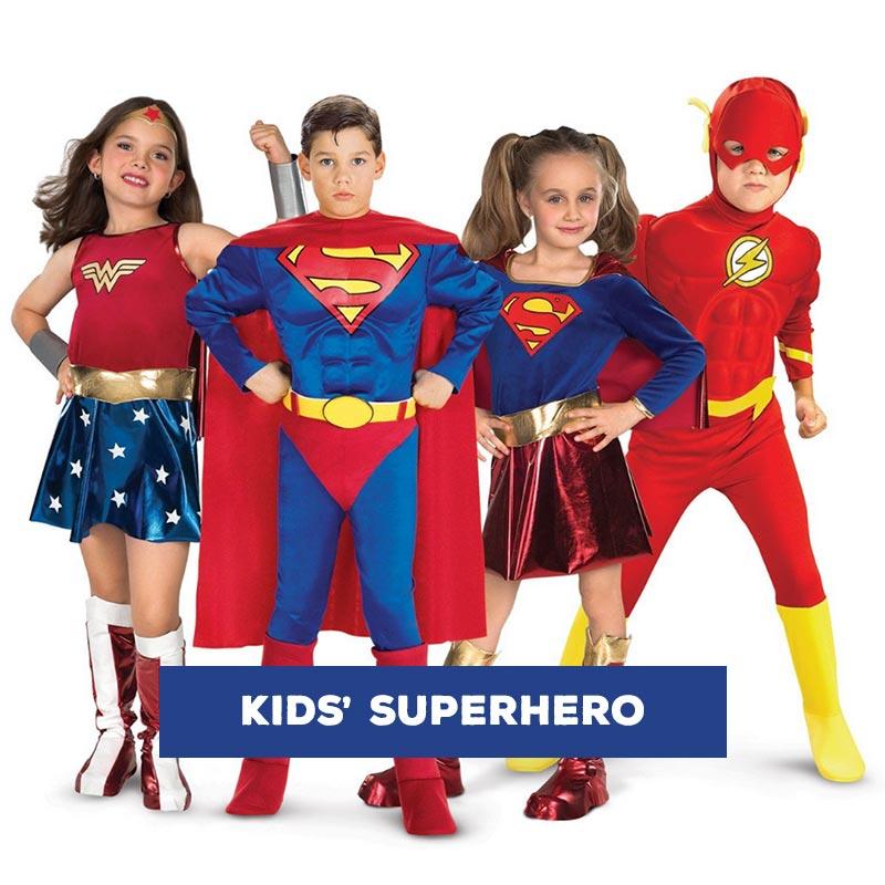 Buy Kids Superhero Costumes Outfits Online
