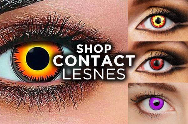 Buy Contact Lenses Online Masquerade Costume Hire