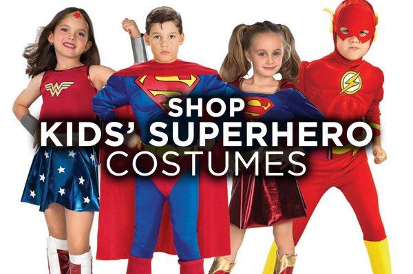 Buy Kids Childrens Superhero Costume Online